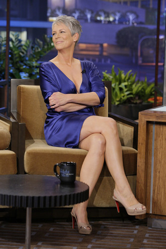 Jamie Lee Curtis Late Night 2012.03.19