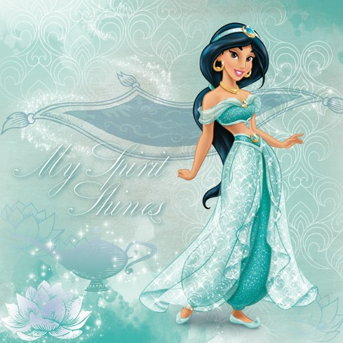 Disney Princess wallpaper possibly with a dinner dress, a cocktail dress, and a gown called Jasmine