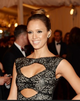 Jessica Alba -'PUNK: Chaos To Couture' Costume Gala