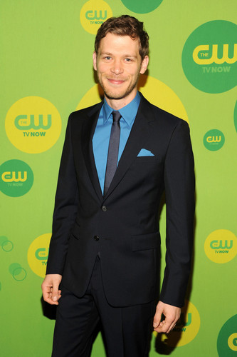 Joseph morgan at The CW's 2013 Upfront