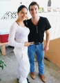Josh with a fan in Panama - josh-hutcherson photo