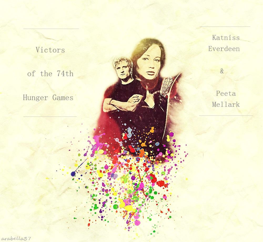 Katniss and Peeta by victoriaying on DeviantArt