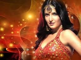 Katrina Kaif wallpaper possibly containing attractiveness, a bikini, and a portrait entitled Katrina kaif