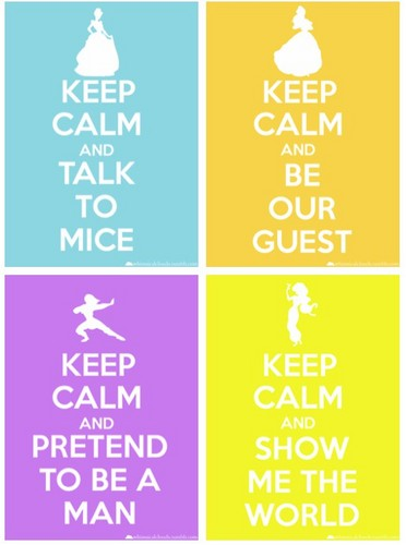 Keep Calm Princesses