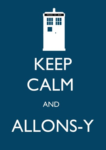 Keep Calm and Любовь Doctor Who