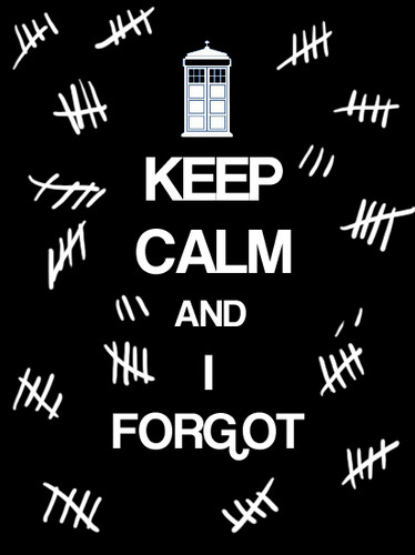 Keep Calm and tình yêu Doctor Who