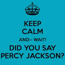 Keep calm and Percy on :)