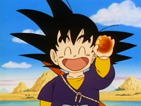 Kawaii Anime wallpaper possibly containing anime titled Kid Goku