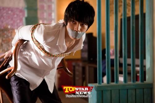 Kim Jae Joong & Song Ji Hyo - 'Jackal is Coming' Movie