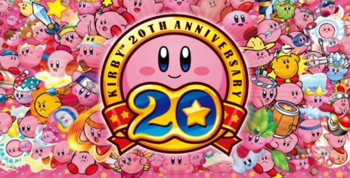 Kirby Wallpaper With A Stained Glass Window Titled Kirbys 20Lets Celabrate
