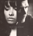 Klonnie: This love will be your downfall - klaus-and-bonnie fan art