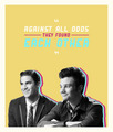 Kurt & Blaine  - glee fan art