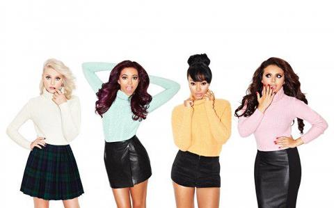 little mix fondo de pantalla possibly containing a playsuit, a well dressed person, and a portrait called LM♥