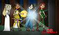 Ladies of the rings - total-drama-island fan art