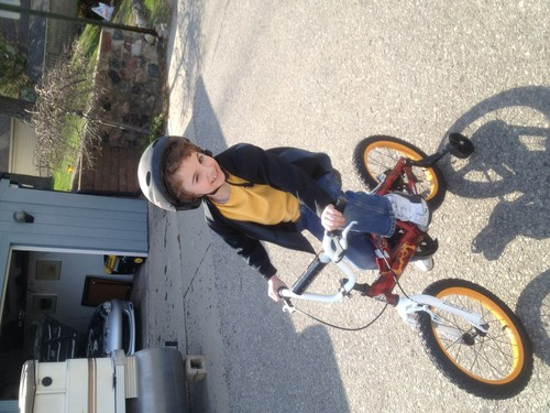 Learning how to ride