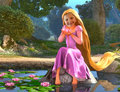 Lila at Lake - Rapunzel