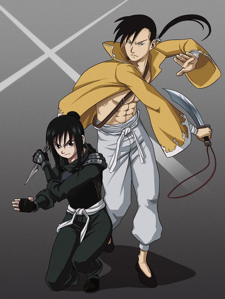 Ling Yao & Lan tagahanga