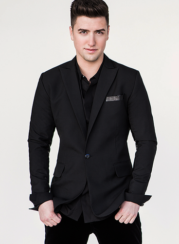 Logan Henderson wolpeyper with a business suit, a suit, and a double breasted suit entitled Logan Henderson