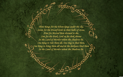 Lord of the Ring frases