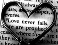 Love Never Fails - love photo