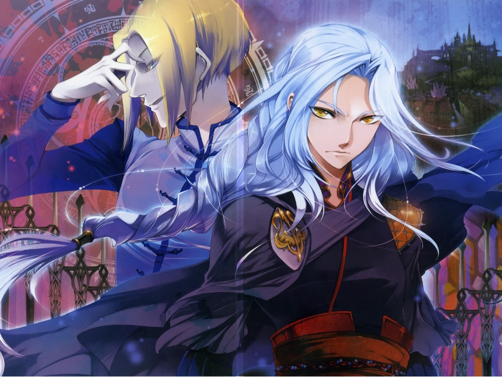 The legend of the legendary heroes images lucile and sion hd wallpaper