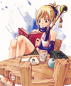 fairy tail ( Lucy Heartfilia ) wallpaper probably with animê called Lucy¸.•´¯`♡