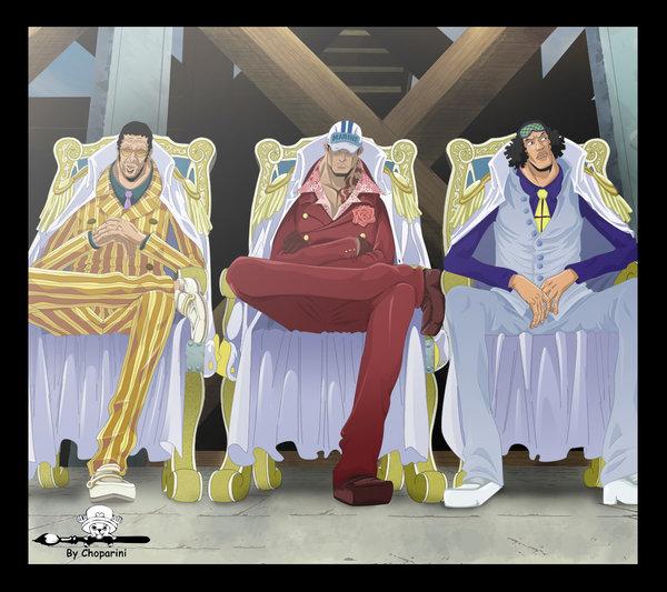 3 Admirals