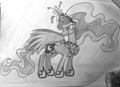 Luna - my-little-pony-friendship-is-magic fan art