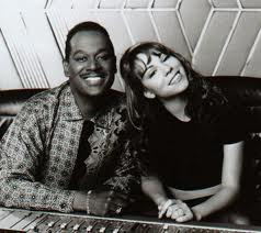 Luther Vandross And Mariah Carey In The Recording Studio