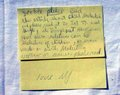 MJ's note to Dee Dee (his sister in law) about child molestation - michael-jackson photo