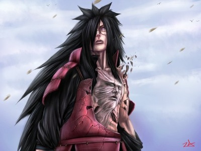 Madara Uchiha wallpaper possibly with an overgarment, an outerwear, and a box coat titled Madara <3