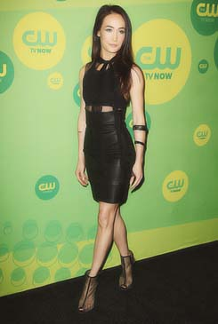 Maggie Q CW Upfronts 2013