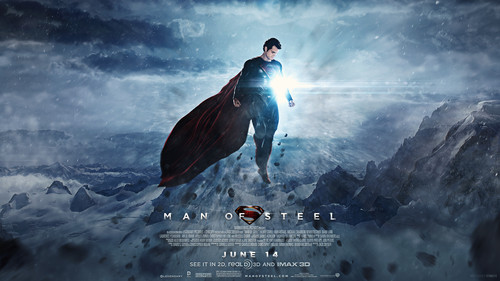 Superman wallpaper probably with a sign and an alpinista entitled Man of Steel - fan art wallpaper