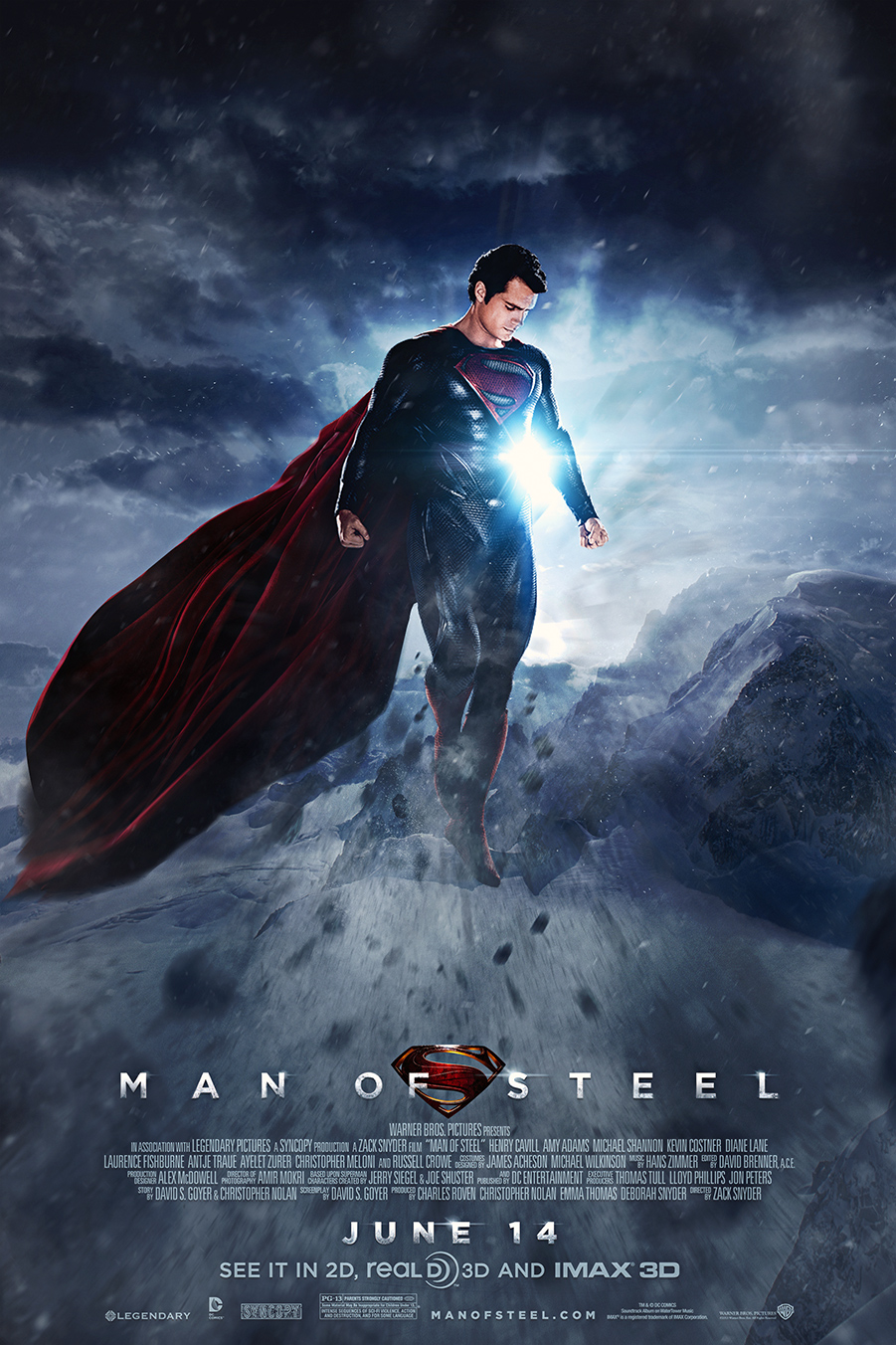 Man of Steel Man of Steel - Fan poster