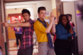 Marcedes, Mike & Kurt  - glee photo