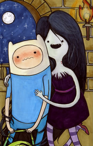 Marceline and Finn