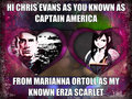 Marianna And Chris - chris-evans fan art
