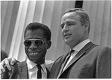 Marlon Brando And James Baldwin