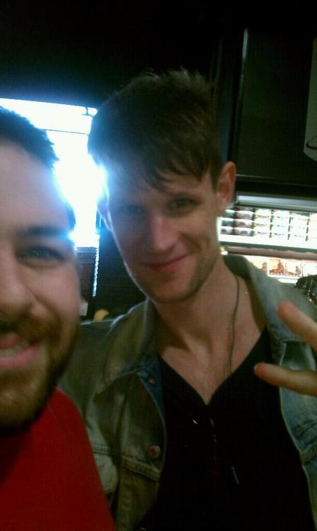 Matt's new hair cut