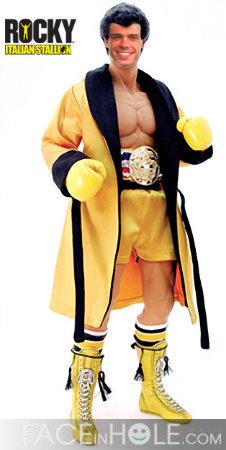 Matthew as Rocky Balboa