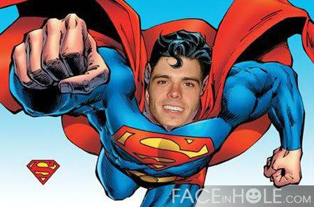 Matthew as Супермен