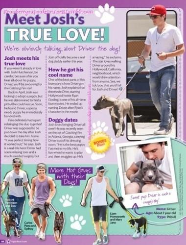 Meet Josh's True Love!