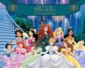 Merida joins the Royal Court - disney-princess photo