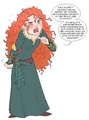 Merida rants about the stupid petition - disney-princess photo