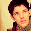 Merlin on BBC photo containing a portrait entitled Merlin <3
