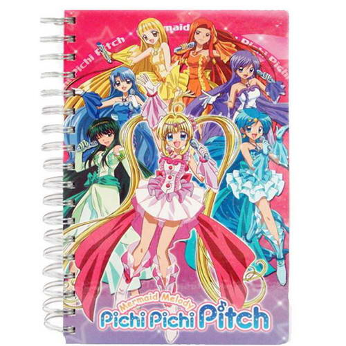 Mermaid Melody Notebook