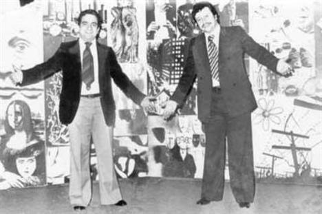 Metin Akpınar and Zeki Alasya