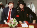 Michael And Donald Trump - michael-jackson photo
