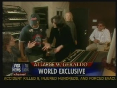 Michael In The Recording Studio