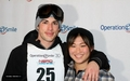 Michael Trevino and Jenna Ushkowitz at Operation Celebrity Smile Challenge (March 30)